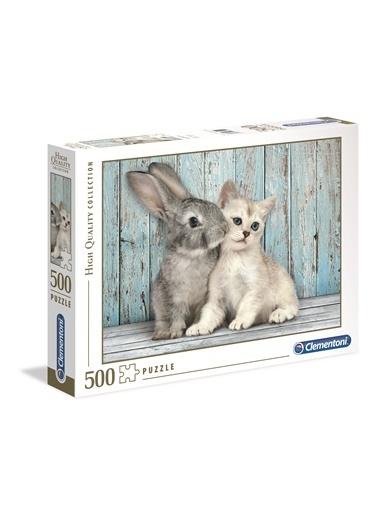 Clementoni Cat/Bunny (500 parça) Renkli